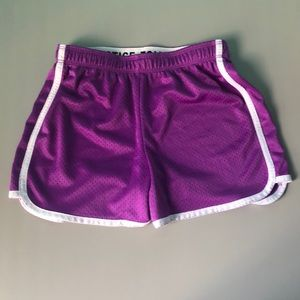 Justice Purple Athletic Shorts!